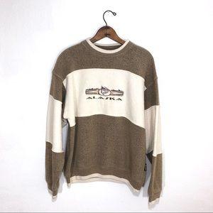 Vintage Alaska Nude Tone Crew Sweatshirt